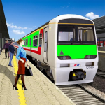 Modern Train Driving Simulator: City Train Games 23.09 (Mod)