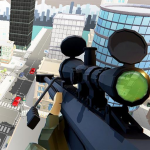PIXEL SNIPER FORCE GUN ATTACK 10.8 (Mod)