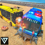 Police Bus Crash Derby Destruction Demolition Game 1.0.8   (Mod)