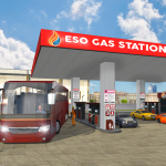 Smart Bus Wash Service: Gas Station Parking Games 1.6(Mod)