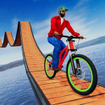 Stunt bike Impossible Tracks 3D: New Bicycle Games 20  (Mod)