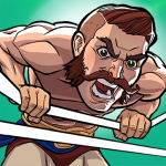 The Muscle Hustle Slingshot Wrestling Game   (Mod) (Mod)