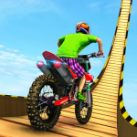Trial Bike Racing Stunts : New Stunt Bike Games 3.9 (Mod)