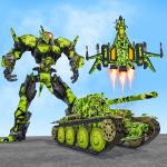 US Army Robot Transformation Jet Robo Car Tank War 1.9 (Mod)