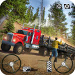 USA Truck Driving School: Off-road Transport Games 1.15 (Mod)