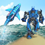 Warrior Robot Shark– Shark Robot Transformation 1.7 (Mod)