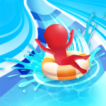 Waterpark: Slide Race 1.1.1  (Mod)