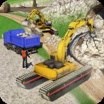Amphibious Excavator Construction Crane Simulator 1.10(Mod)