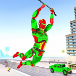 Army Robot Rope hero – Army robot games 2.2 (Mod)