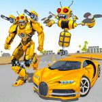 Bee Robot Car Transformation Game: Robot Car Games  1.30 (Mod)