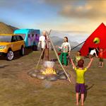 Camper Van Driving Truck 2018-Virtual Family Games 1.7 (Mod)