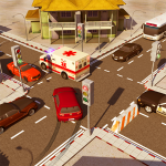 City Traffic Control Simulator: Intersection Lanes 2.0 (Mod)