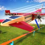 Futuristic Flying Train Simulator Taxi Train Games 1.4 (Mod)