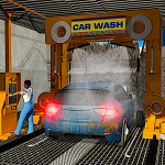 Smart Car Wash Service: Gas Station Car Paint Shop 1.12 (Mod)