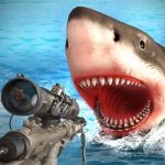 Survivor Sharks Game: Shooting Hunter Action Games 1.14 (Mod)