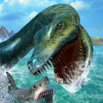 Ultimate Sea Dinosaur Monster: Water World Game  1.2 (Mod)