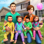 Virtual Mother Baby Quadruplets Family Simulator 1.0.9 (Mod)