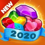Addictive Gem Match 3 – Free Games With Bonuses 5.3.9  (Mod)