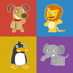 Animals memory game for kids 2.7.3 (Mod)