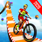 BMX Bicycle Racing Stunts- Mega Ramp Cycle Games 2.3 (Mod)