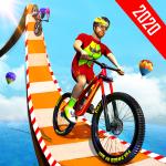 BMX Bicycle Racing Stunts- Mega Ramp Cycle Games 2.3 (Mod)