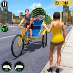 Bicycle Tuk Tuk Auto Rickshaw : New Driving Games 1.6 (Mod)