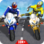Bike Attack Race : Highway Tricky Stunt Rider 5.1.06  (Mod)