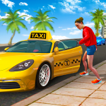 City Taxi Driving Sim 2020: Free Cab Driver Games  1.0.9 (Mod)