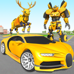 Deer Robot Car Game – Robot Transforming Games 1.0.4 (Mod)