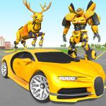 Deer Robot Car Game – Robot Transforming Games 1.0.2 (Mod)