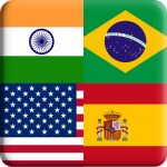 Flags Quiz Gallery : Quiz flags name and color  Flag 1.0.221 (Mod)