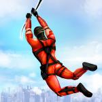 Flying Ninja Rope Hero: Light Speed Ninja Rescue 2.0 (Mod)