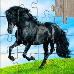 Horse Jigsaw Puzzles Game – For Kids & Adults 🐴  26.1 (Mod)