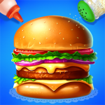 🍔🍔Make Hamburger – Yummy Kitchen Cooking Game 3.2.5022 (Mod)