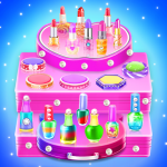 Makeup kit cakes : cosmetic box makeup cake games  1.0.13 (Mod)