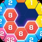 Merge Block Puzzle – 2048 Hexa  1.4.8 (Mod)