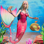Mermaid Simulator 3D – Sea Animal Attack Games 1.9 (Mod)