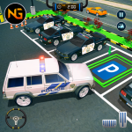 Police Car Parking: Police Jeep Driving Games 1.1.3 (Mod)