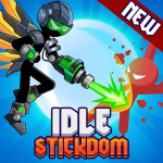 Stickdom Idle Taptap Titan Clicker Heroes  0.2.3 (Mod)