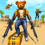 Teddy Bear Gun Strike Game: Counter Shooting Games 2.7(Mod)
