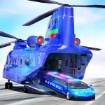 US Police Limo Transport, Aeroplane transport Game 1.0.56 (Mod)