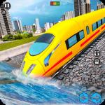 Underwater Bullet Train Simulator : Train Games  2.7.0 (Mod)