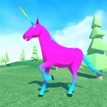 🦄 Unicorn Simulator Family Free 2-Wild Horse Game 1.38 (Mod)