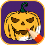 2021 Halloween Coloring Books 2.1.3 (Mod)