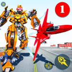 Air Robot Game – Flying Robot Transforming Plane 2.2 (Mod)