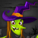 Angry Witch vs Pumpkin: Scary Halloween Game 2019 2.1 (Mod)
