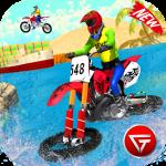 Beach Water Surfer Dirt Bike: Xtreme Racing Games 1.0.5 (Mod)