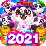 Bubble Shooter Cooking Panda 1.3.10 (Mod)
