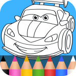 Cars Coloring Pages for Kids 1.3.8 (Mod)