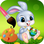 Easter bunny egg coloring book 1.06 (Mod)